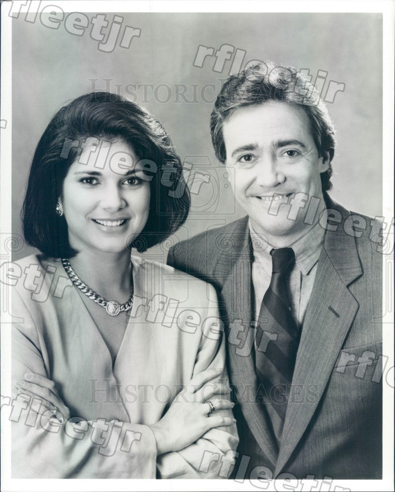 1992 NBC Today Show Weekend Edition Hosts Jackie Nespral Press Photo adw1037 - Historic Images