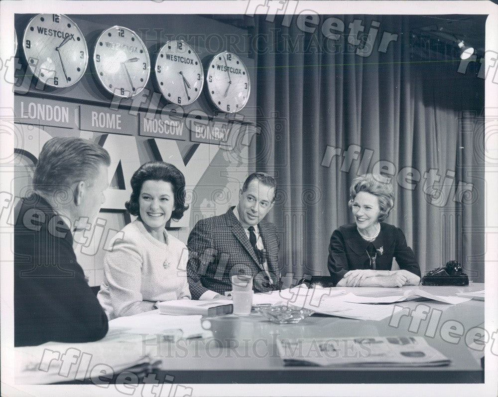 1964 NBC Today Show Hosts Hugh Downs, Jack Lescoulie Press Photo adw1059 - Historic Images