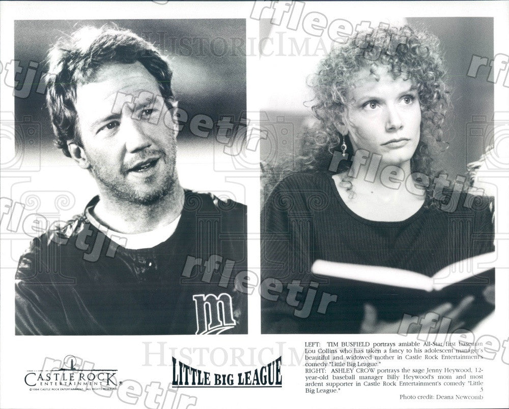 1994 Emmy Winning Actor Tim Busfield & Ashley Crow in Film Press Photo adw1067 - Historic Images