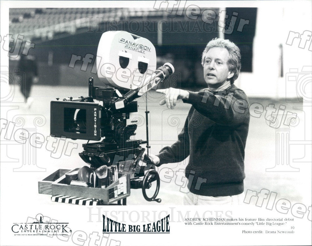 1994 Director Andrew Scheinman of Film Little Big League Press Photo adw1073 - Historic Images