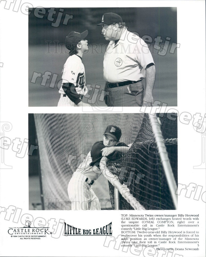 1994 Actors Luke Edwards & O'Neal Compton in Film Press Photo adw1085 - Historic Images
