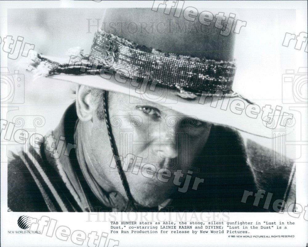 1985 Actor Tab Hunter in Film Lust in the Dust Press Photo adw1097 - Historic Images