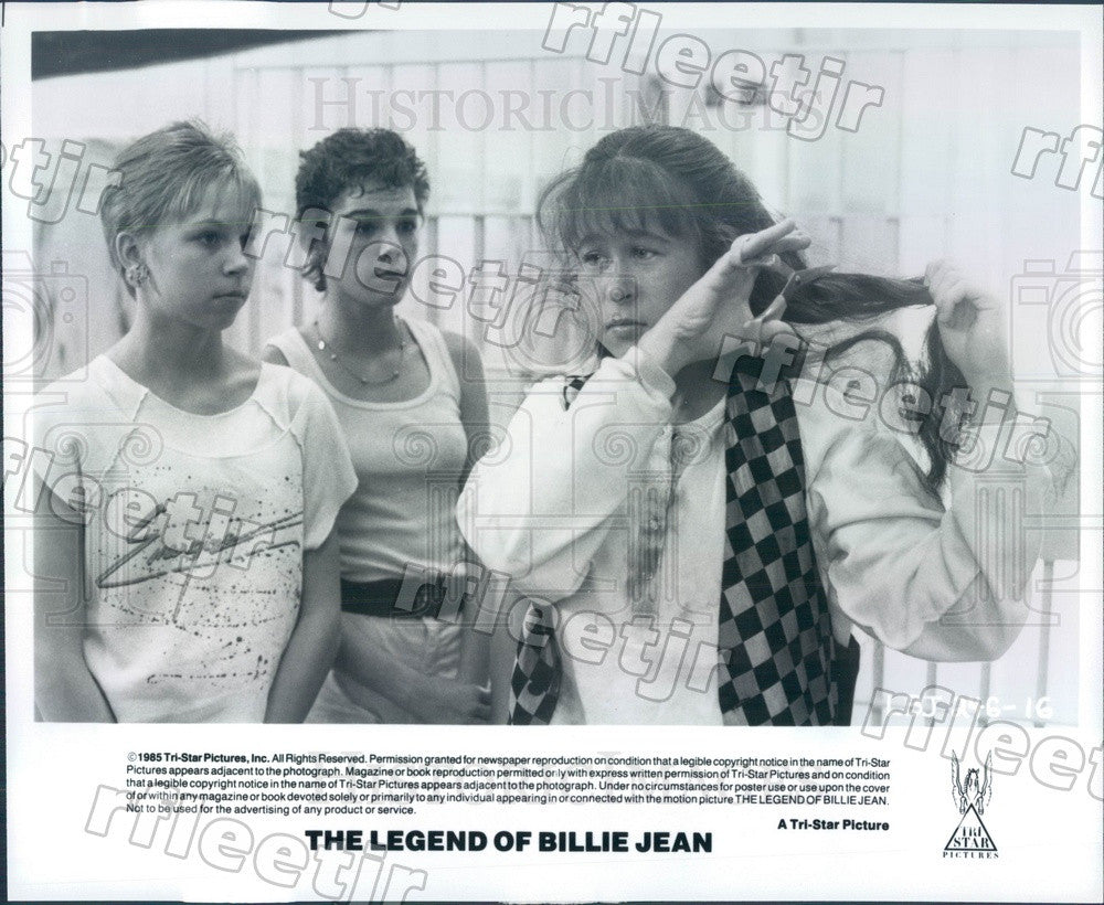 1985 Actor Martha Gehman in Film The Legend Of Billie Jean Press Photo adw1119 - Historic Images