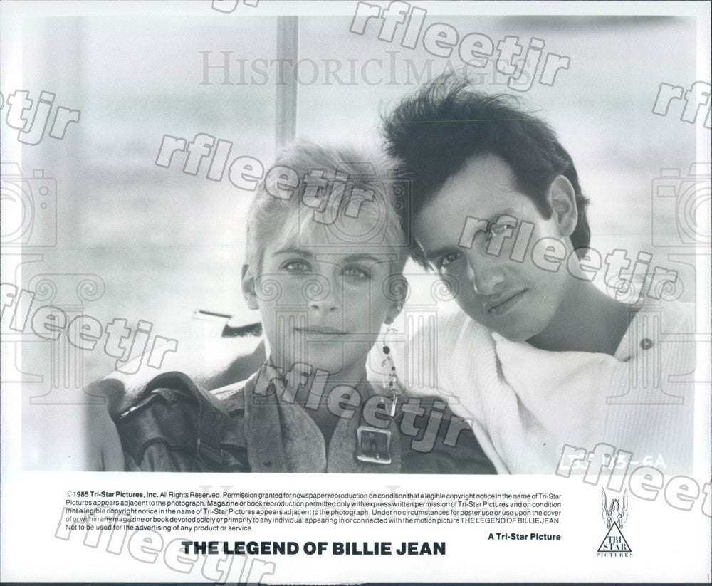 1985 Actors Helen Slater & Keith Gordon in Film Press Photo adw1131 - Historic Images