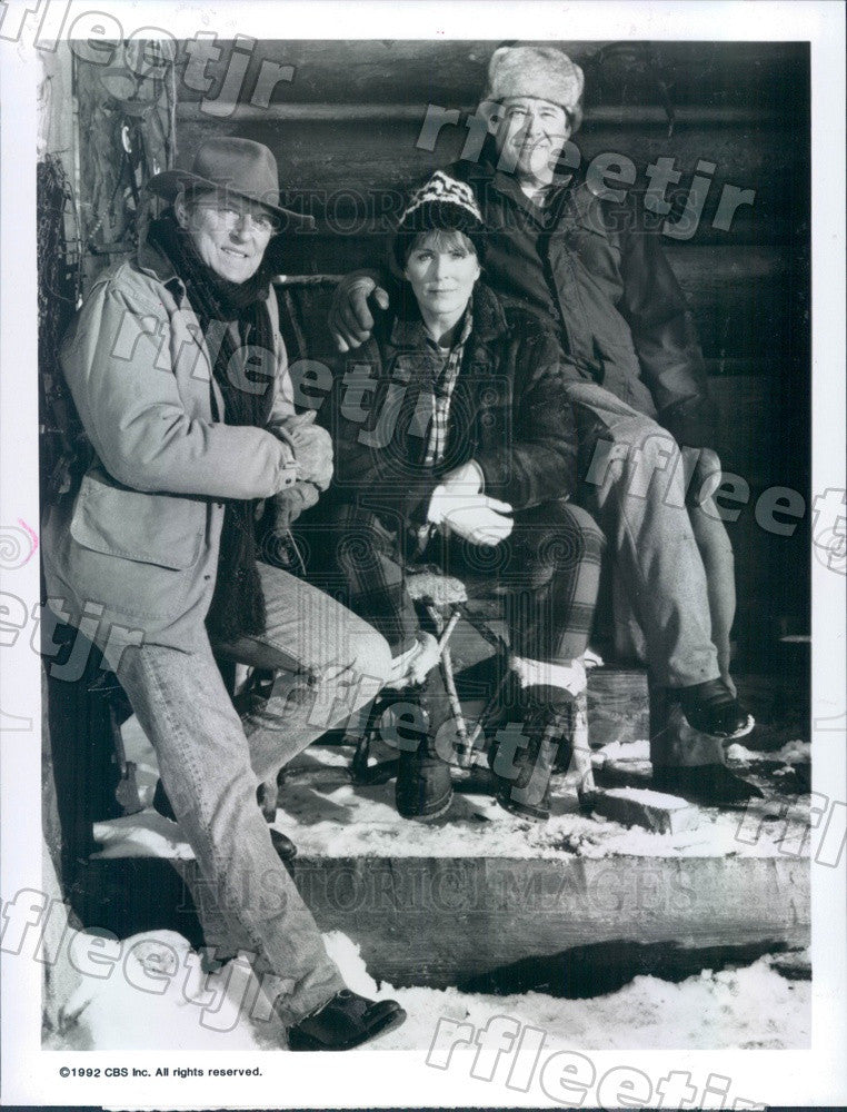 1992 Actors John Cullum, Joanna Cassidy, Barry Corbin Press Photo adw1187 - Historic Images