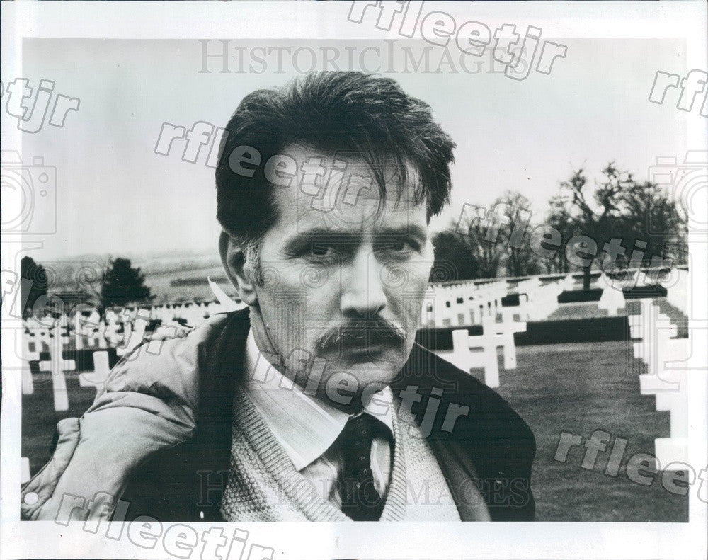 1986 Emmy Winning Actor Martin Sheen Press Photo adw153 - Historic Images