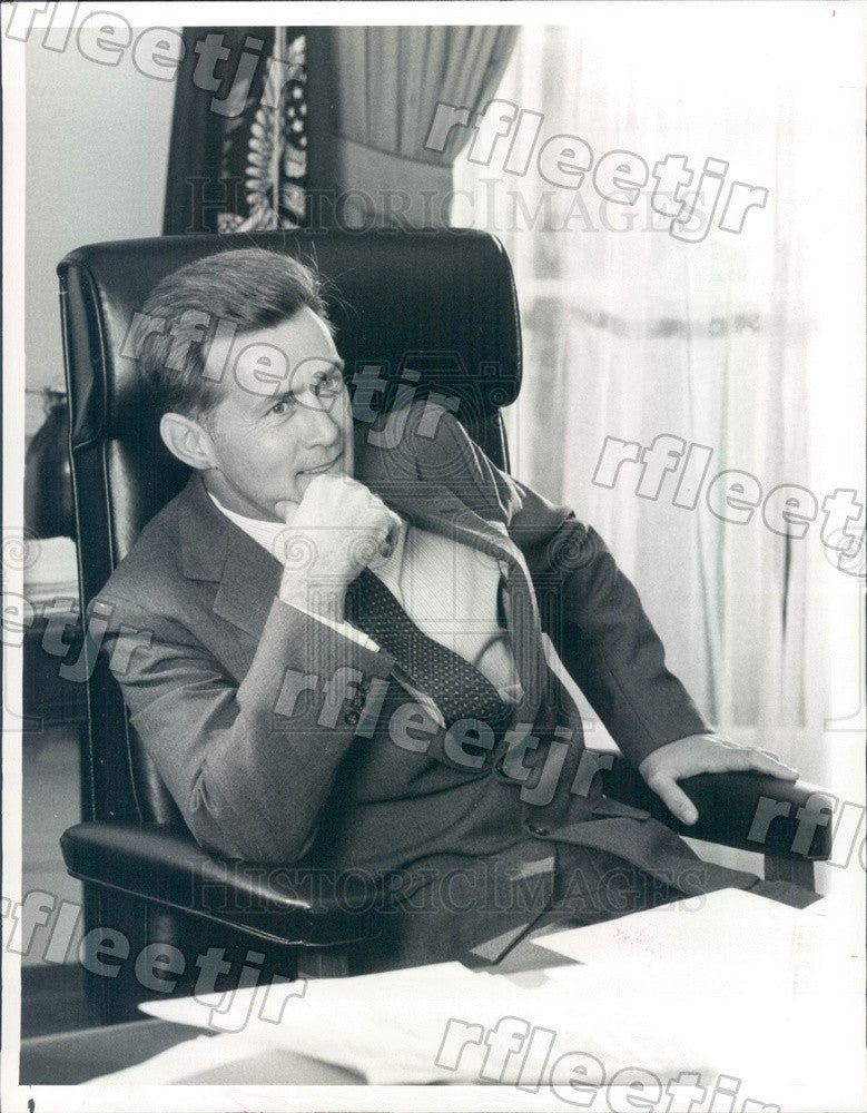 1983 Emmy Winning Actor Martin Sheen in TV Miniseries Kennedy Press Photo adw173 - Historic Images