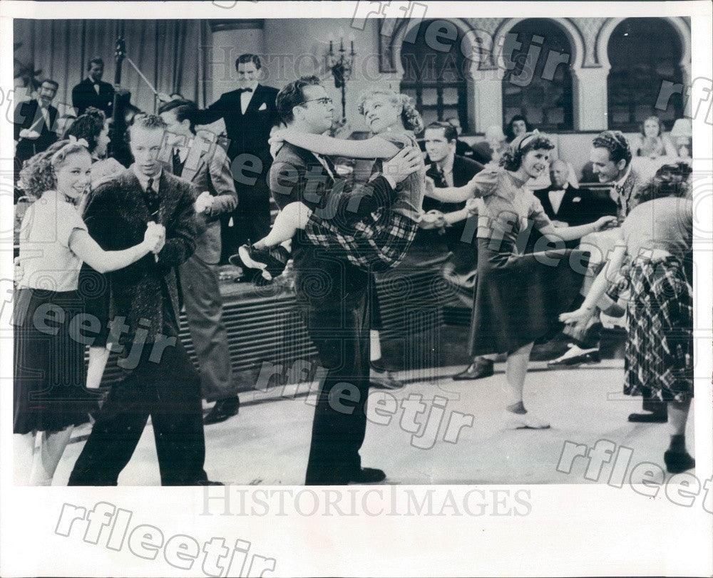 1972 Actors June Burnett, Dick Powell, Peter Lind Hayes Press Photo adw19 - Historic Images