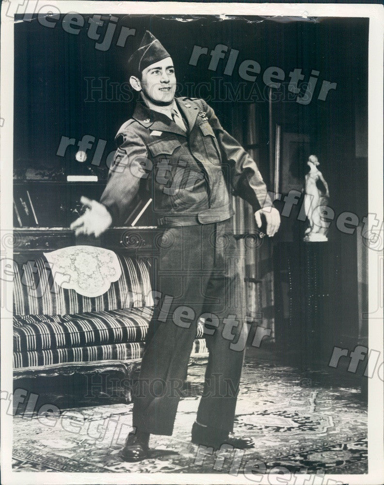 1965 Actor Martin Sheen in The Subject Was Roses on Broadway Press Photo adw191 - Historic Images