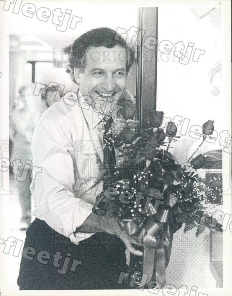 1986 Emmy Winning Actor Daniel Travanti in Film Adam Press Photo adw245 - Historic Images