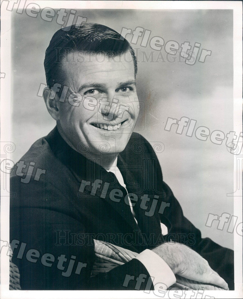 1959 Stage Actor Steve Dunne Press Photo adw265 - Historic Images