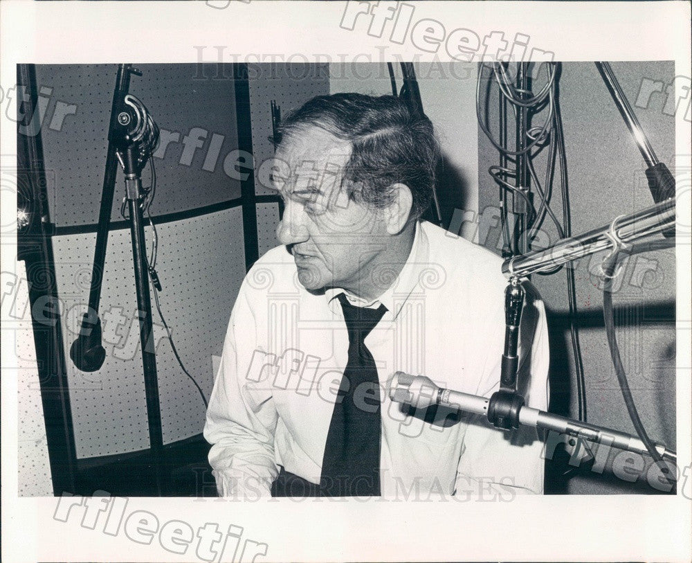 1975 Oscar, Emmy Winning Actor Karl Malden Press Photo adw271 - Historic Images