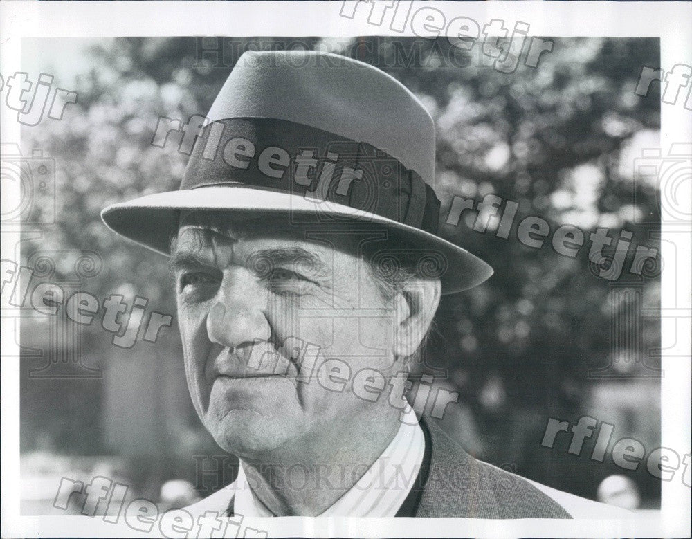 1977 Oscar, Emmy Winning Actor Karl Malden on TV Show Press Photo adw273 - Historic Images