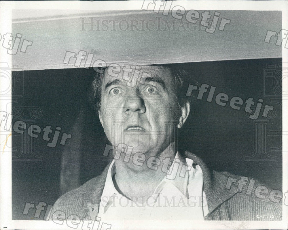 1971 Oscar, Emmy Winning Actor Karl Malden in Film Press Photo adw275 - Historic Images