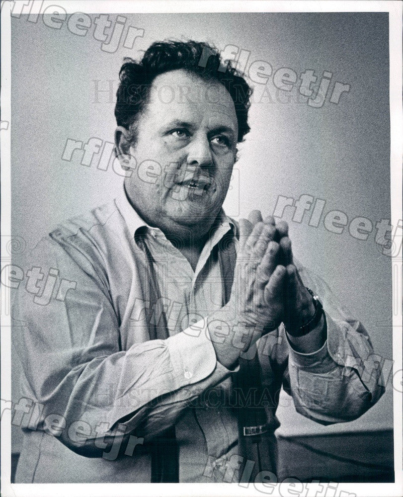 1969 Filmmaker Emile D'Antonio Press Photo adw297 - Historic Images