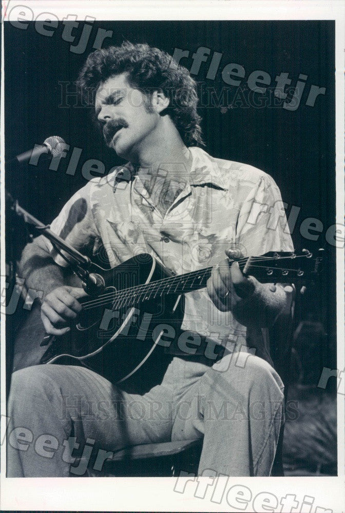 1983 Blues & Jazz Singer-Songwriter WAZ Press Photo adw357 - Historic Images