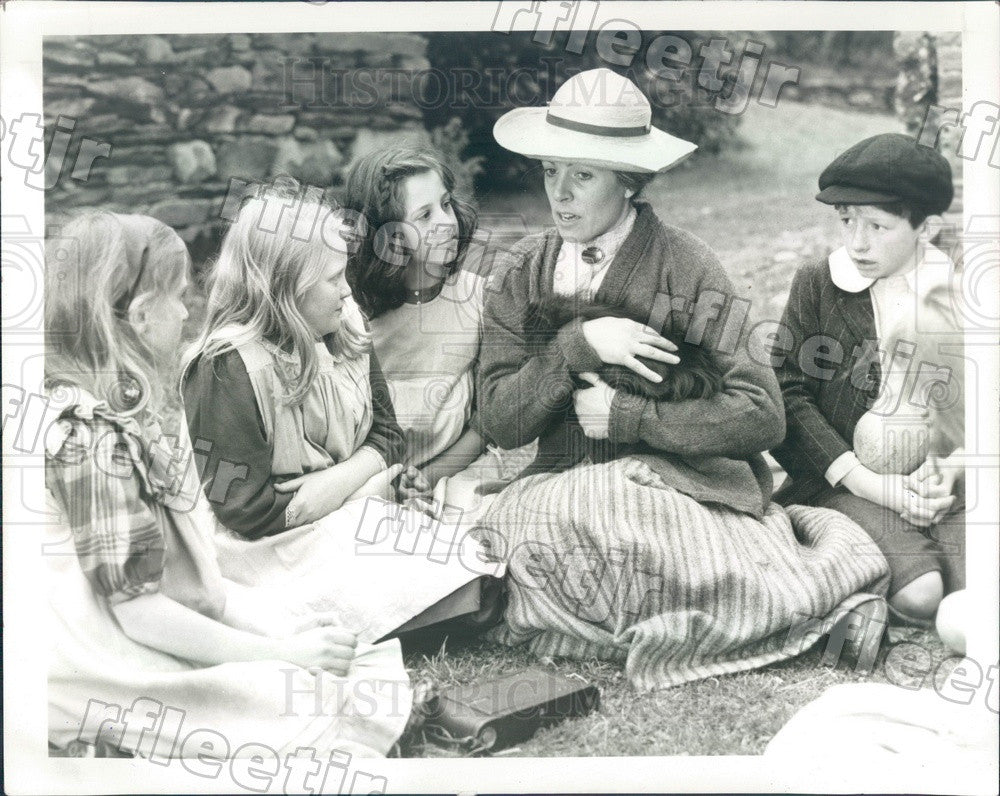 1984 Actor Penelope Wilton in The Tale of Beatrix Potter Press Photo adw361 - Historic Images
