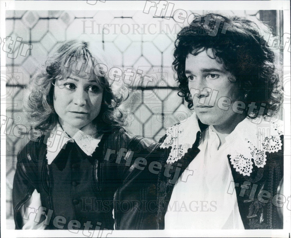 1980 Actors Felicity Kendal, Clive Arrindell in Twelfth Night Press Photo adw409 - Historic Images