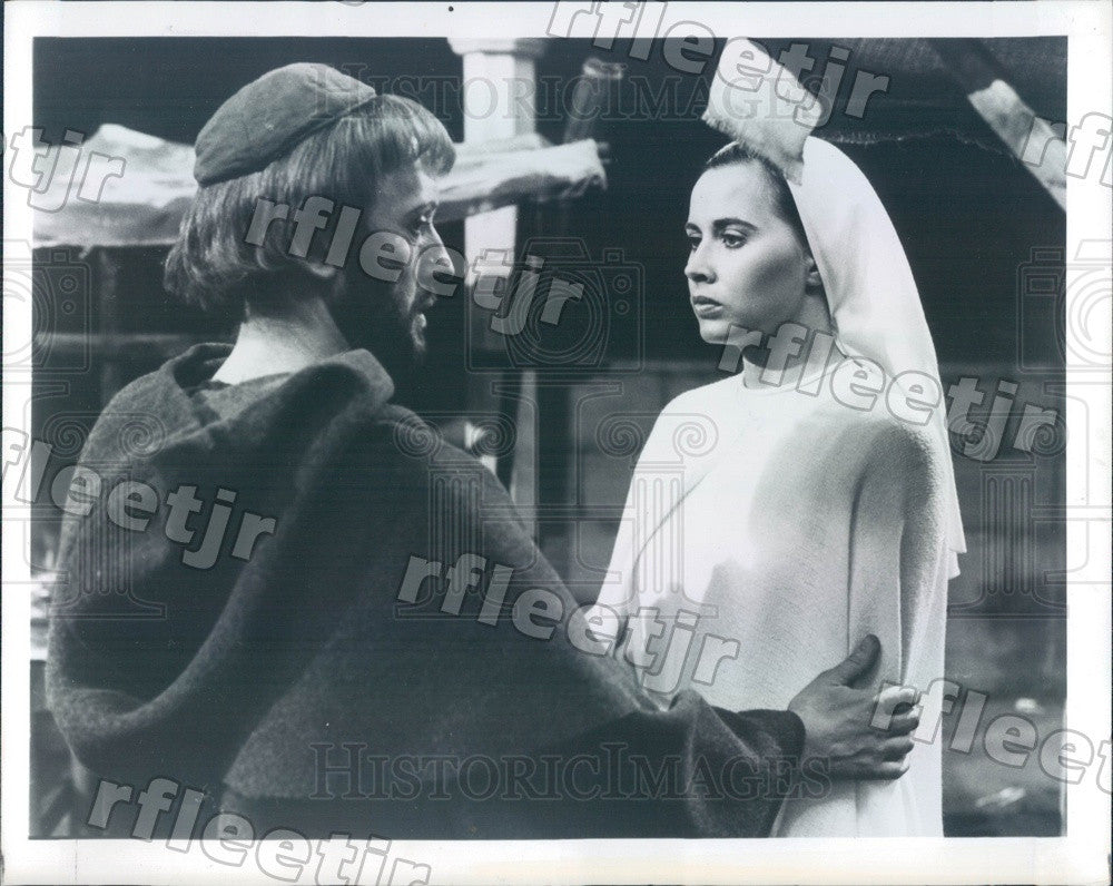 1979 Actors Kenneth Colley & Kate Nelligan Press Photo adw439 - Historic Images