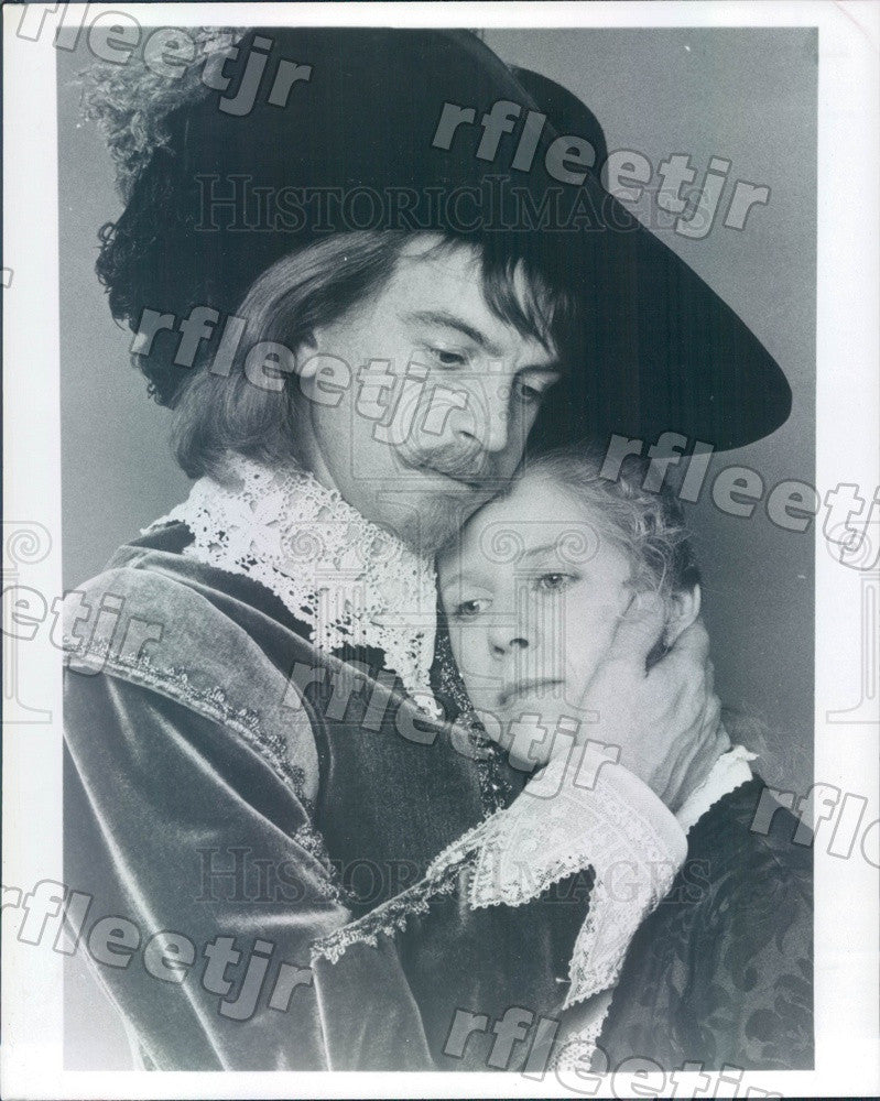 1981 Actors Angela Down & Ian Charleson Press Photo adw467 - Historic Images