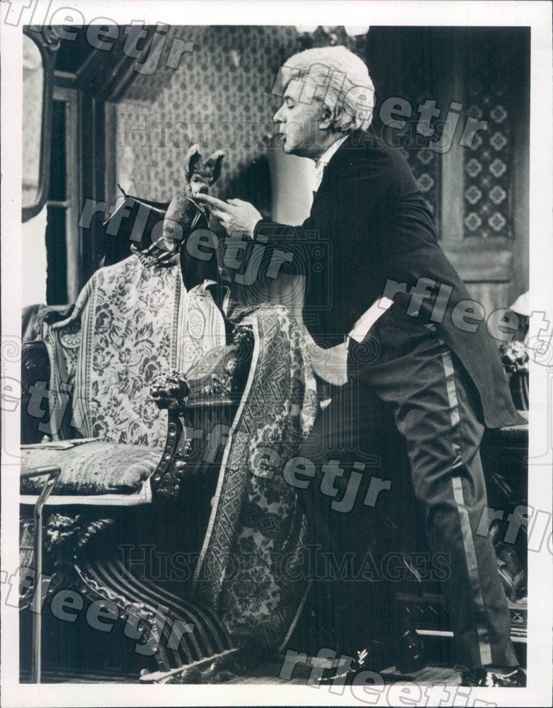 1980 Actor Dick Shawn on TV Show Mr. and Mrs. Dracula Press Photo adw519 - Historic Images