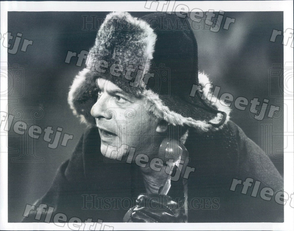 1985 Actor Dick Shawn on TV Show Hail to the Chief Press Photo adw523 - Historic Images