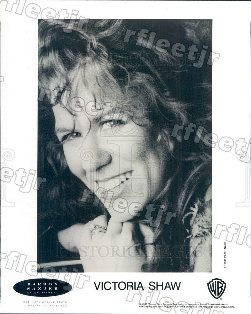 1993 Country Music Singer Victoria Shaw Press Photo adw531 - Historic Images