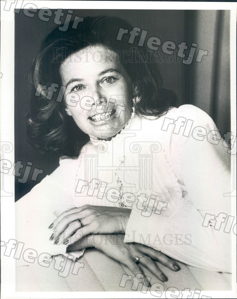 1984 Pulitzer Prize Winning American Author Susan Sheehan Press Photo adw633 - Historic Images