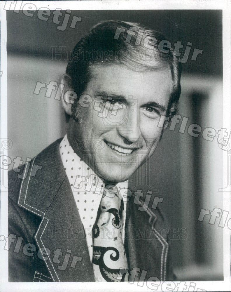 1974 CBS Entertainment Critic David Sheehan Press Photo adw635 - Historic Images