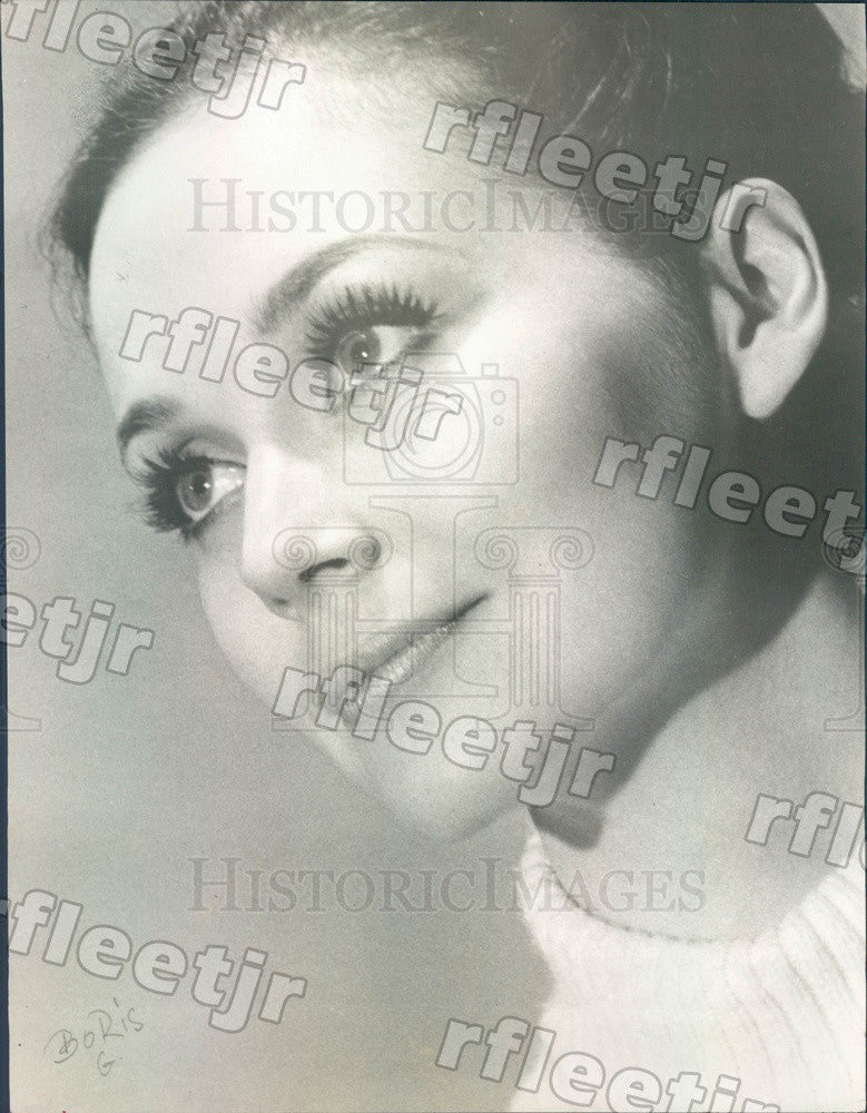 Undated Actress Eileen Shelle Press Photo adw65 - Historic Images