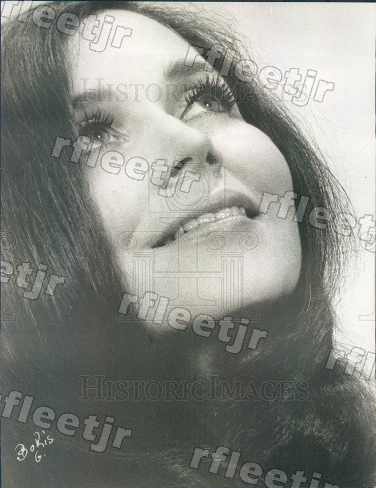 1971 Actress Eileen Shelle Press Photo adw67 - Historic Images