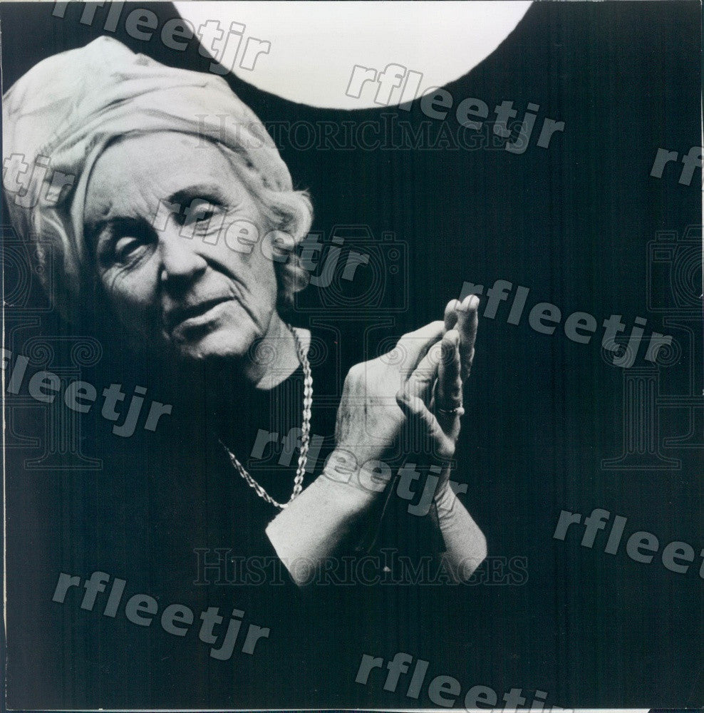1968 Author Margaret Shedd Press Photo adw683 - Historic Images