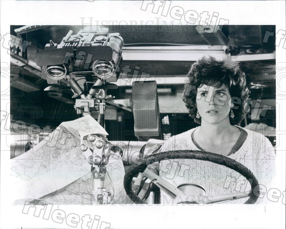 1986 Actress Ally Sheedy in Film Short Circuit Press Photo adw691 - Historic Images