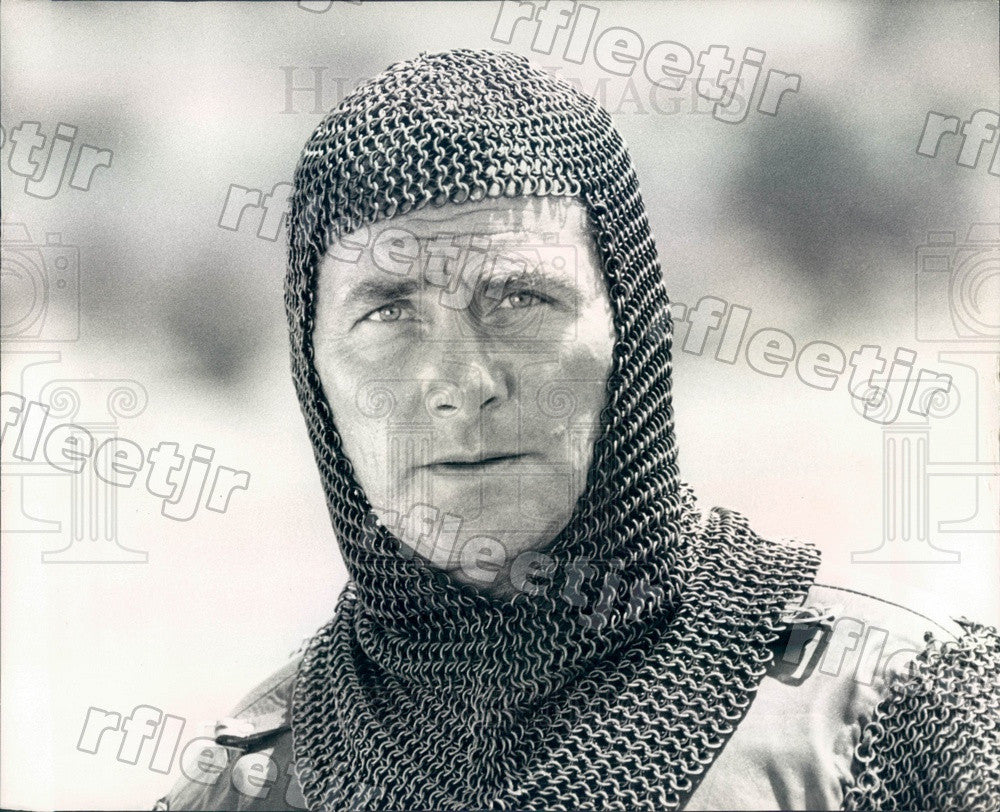 1975 Actor Robert Shaw in Film Robin & Marian Press Photo adw761 - Historic Images