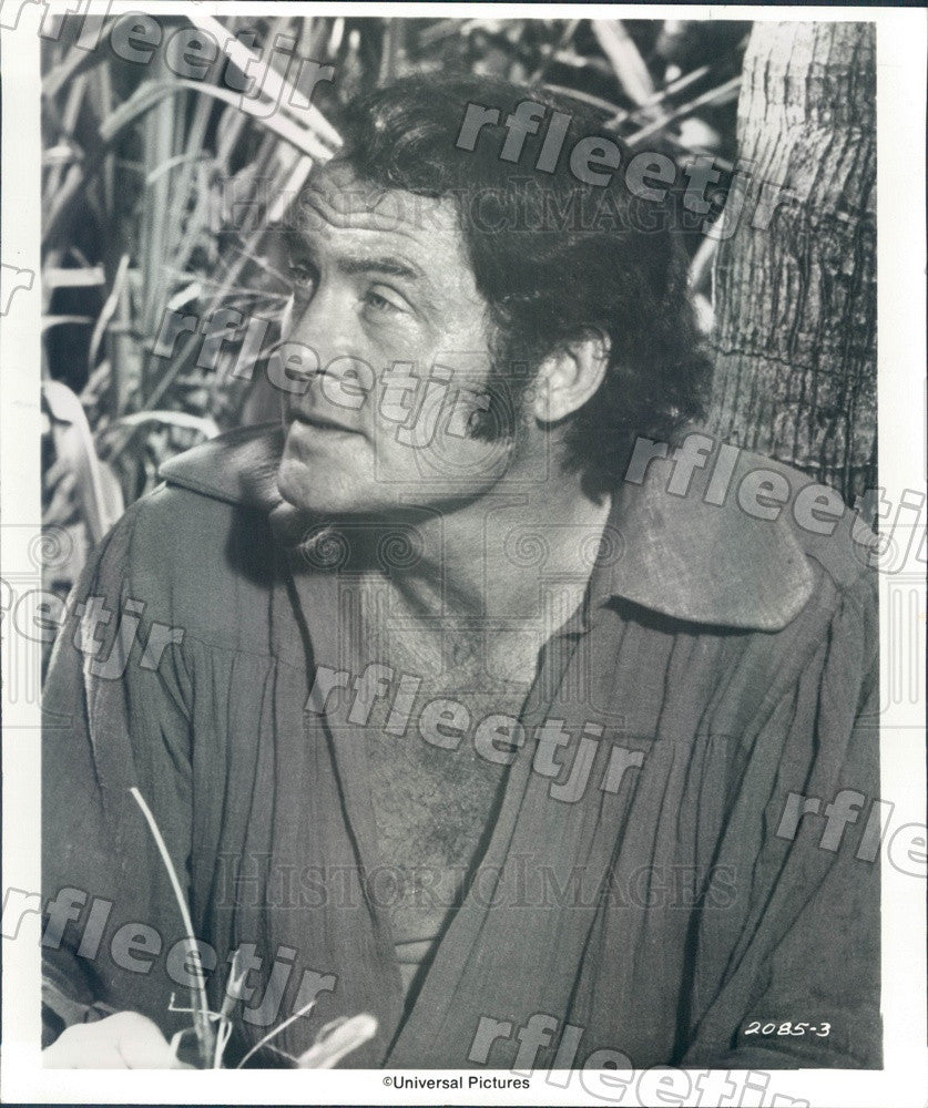1978 Actor Robert Shaw in Film Swashbuckler Press Photo adw767 - Historic Images