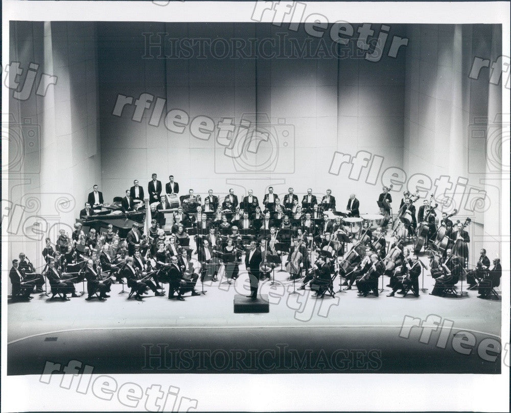 1969 Atlanta Symphony Orchestra Conductor Robert Shaw, Grammy Press Photo adw777 - Historic Images