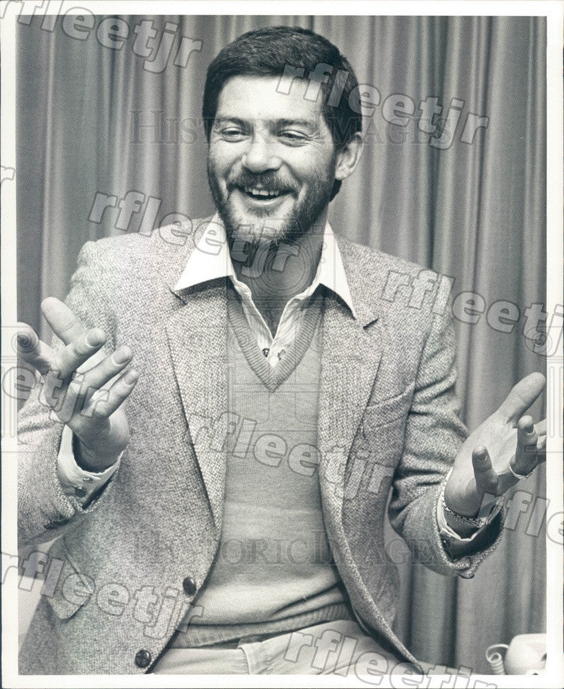 Undated Australian Filmmaker Geoff Burrowes Press Photo adw901 - Historic Images