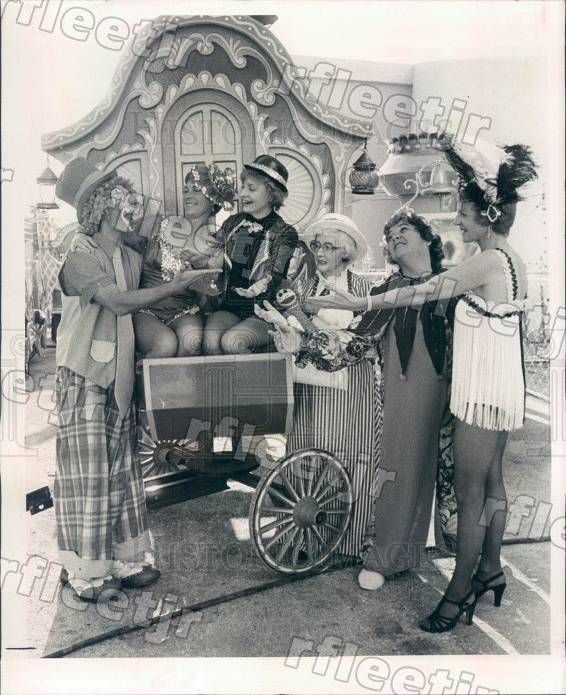 1979 St. Petersburg, FL Singers Sweet Adelines & Clown Press Photo adw943 - Historic Images