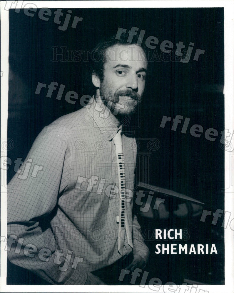 1984 Orlando, Florida Pianist Rich Shemaria Press Photo adw99 - Historic Images