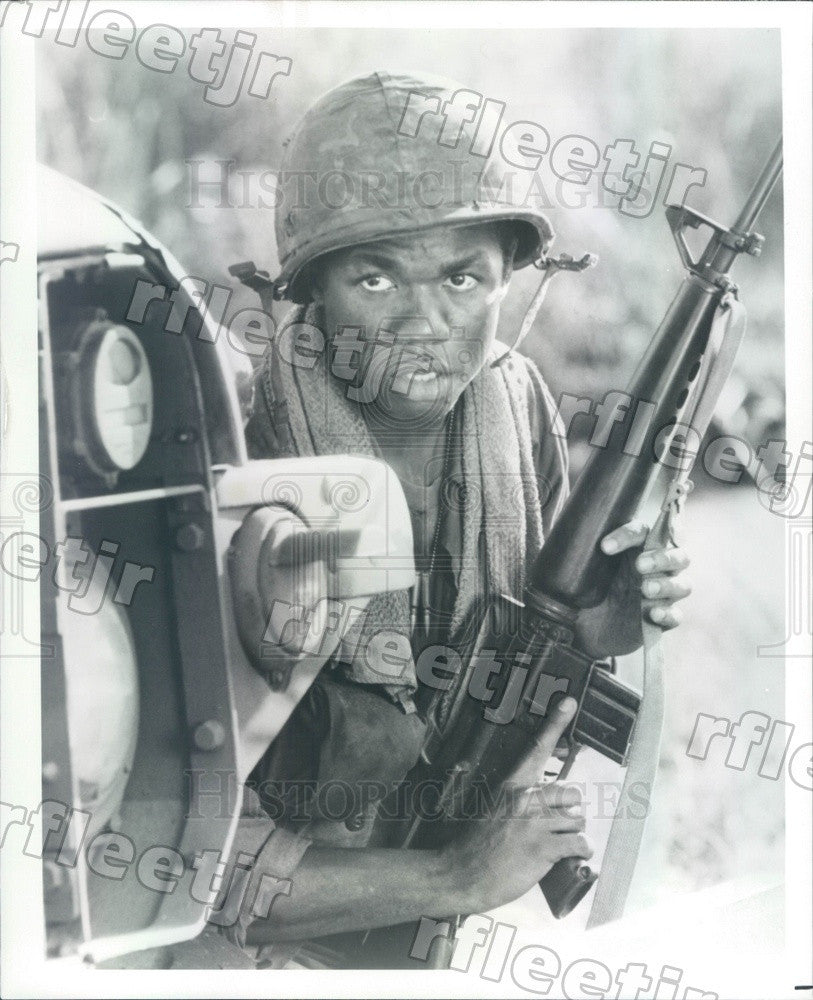 1986 Actor Stan Foster on TV Show Tour of Duty Press Photo adx1023 - Historic Images