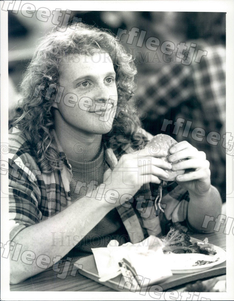 1988 Actor Andrew White on TV Show TV 101 Press Photo adx1065 - Historic Images