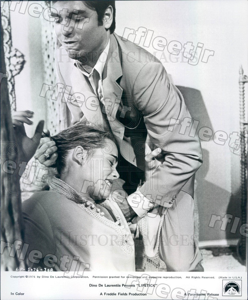 1976 Actors Margaux Hemingway & Chris Sarandon in Film Press Photo adx1139 - Historic Images
