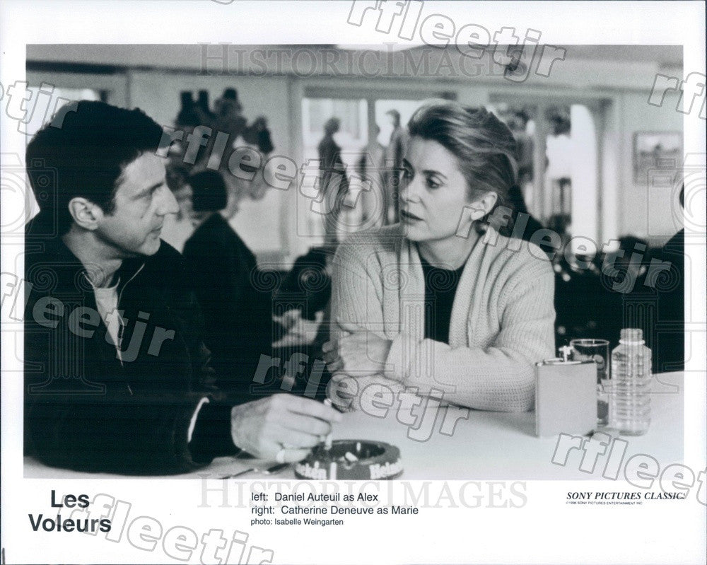 1996 French Actors Catherine Deneuve & Daniel Auteuil in Film Press Photo adx137 - Historic Images
