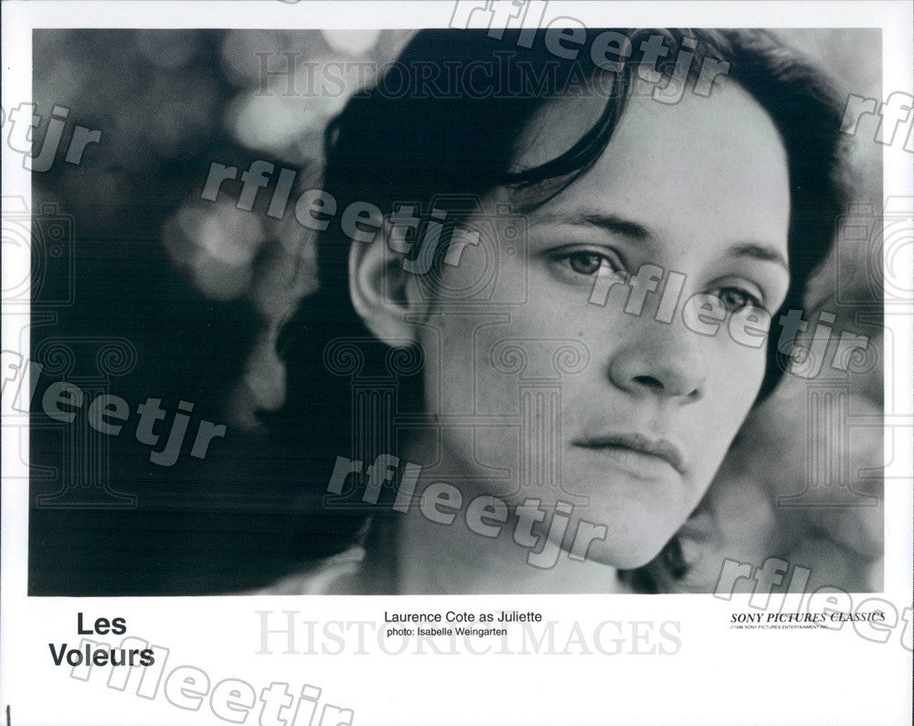 1996 French Actor Laurence Cote in Film Les Voleurs Press Photo adx141 - Historic Images
