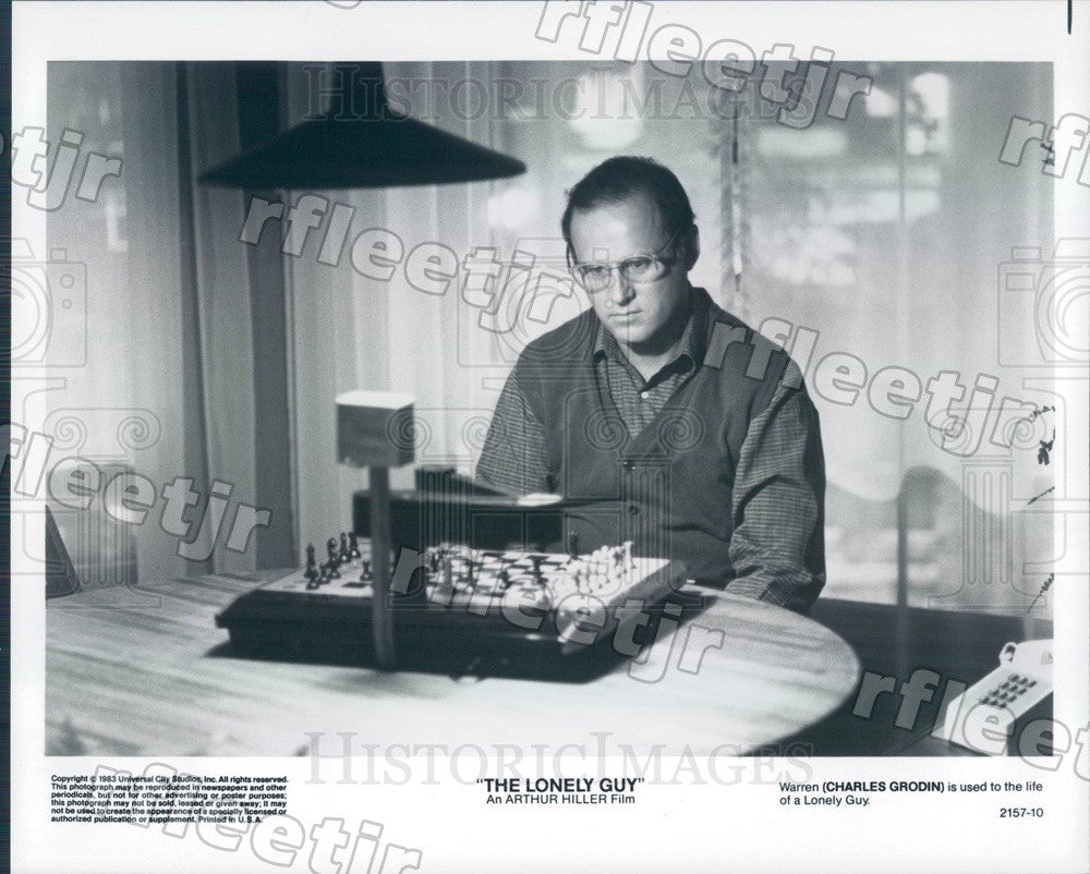 1983 Emmy Winning Actor Charles Grodin in Film The Lonely Guy Press Photo adx151 - Historic Images