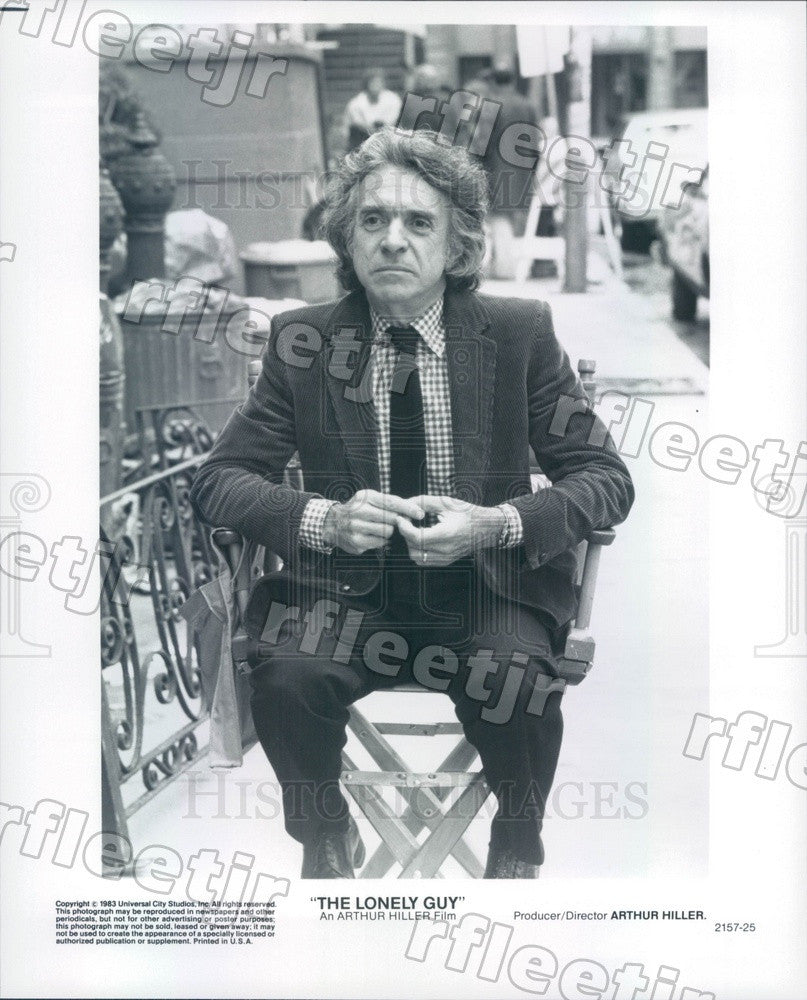 1983 Producer, Director Arthur Hiller of Film The Lonely Guy Press Photo adx157 - Historic Images