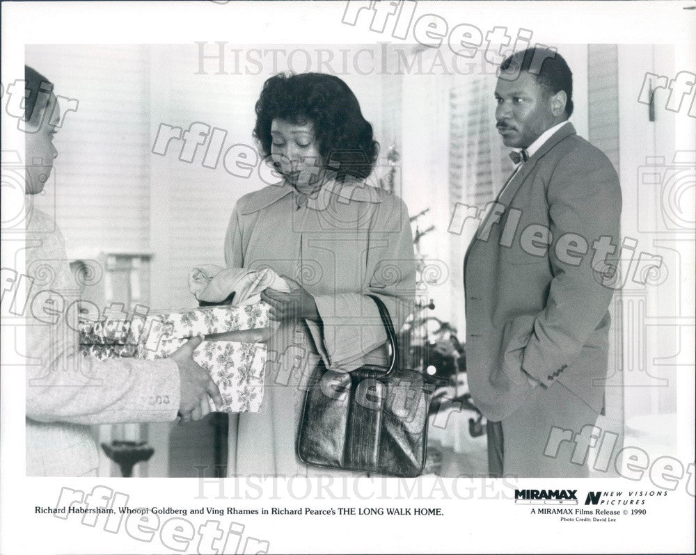 1990 Actors Richard Habersham, Whoopi Goldberg, Ving Rhames Press Photo adx167 - Historic Images