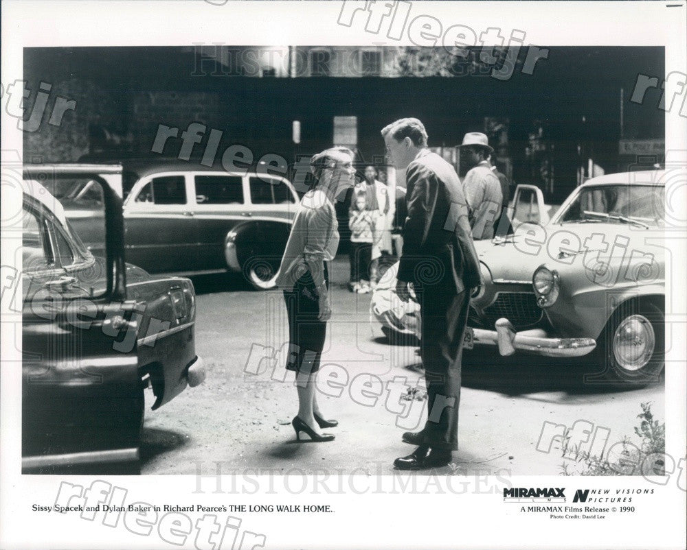 1990 Oscar Winning Actor Sissy Spacek & Dylan Baker in Film Press Photo adx175 - Historic Images