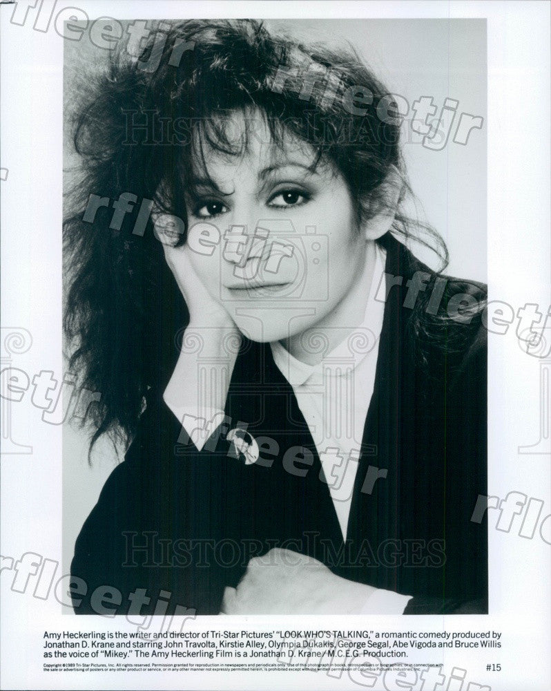 1989 Director Amy Heckerling of Film Look Who's Talking Press Photo adx19 - Historic Images