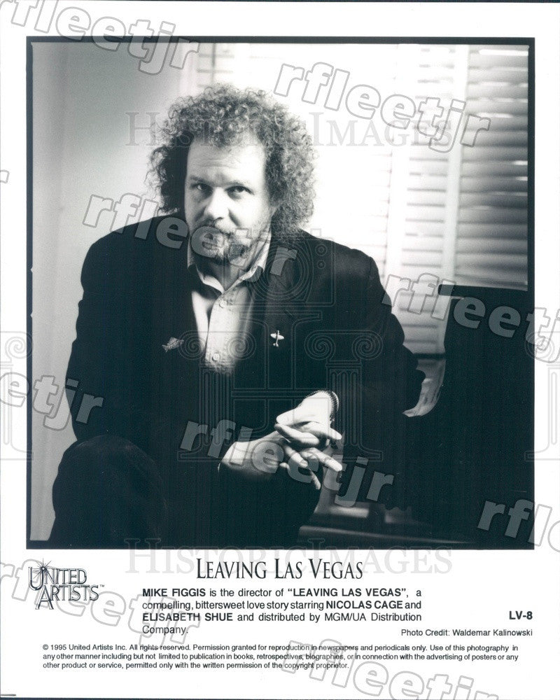 1995 British Film Director Mike Figgis of Leaving Las Vegas Press Photo adx205 - Historic Images